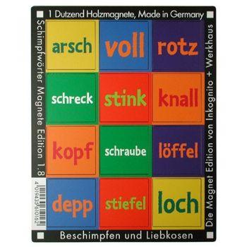 Werkhaus Shop - Schimpfwörter - Edition 1.8