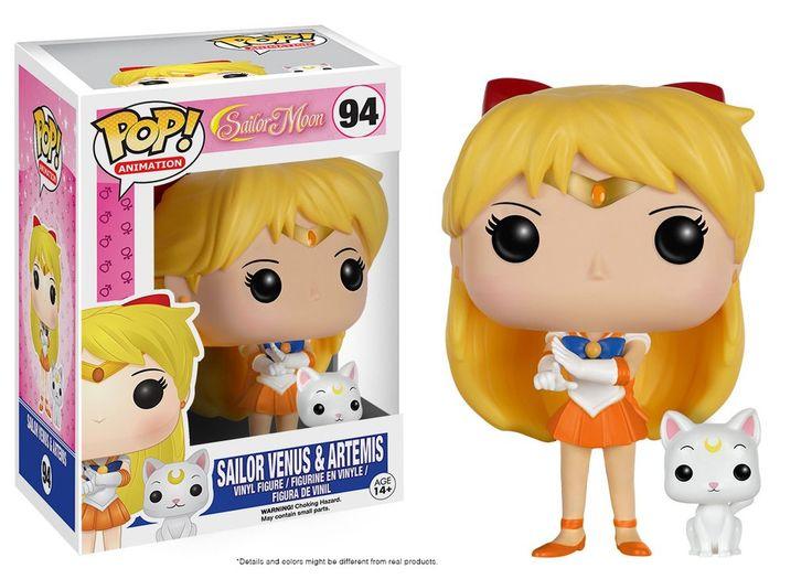 Pop! Animation: Sailor Moon - Sailor Venus with Artemis