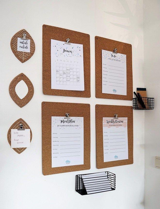 DIY für besseres Familienmanagement: So organisierst du euren Alltag (Ikea Avskild Hack)