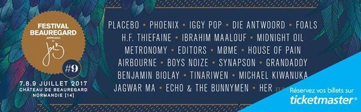 #AW @TicketmasterFR  [ #MUSIQUE ] La programmation du festival #Beauregard2017 est annoncée ! Réservez ici  http://tidd.ly/89f94f5