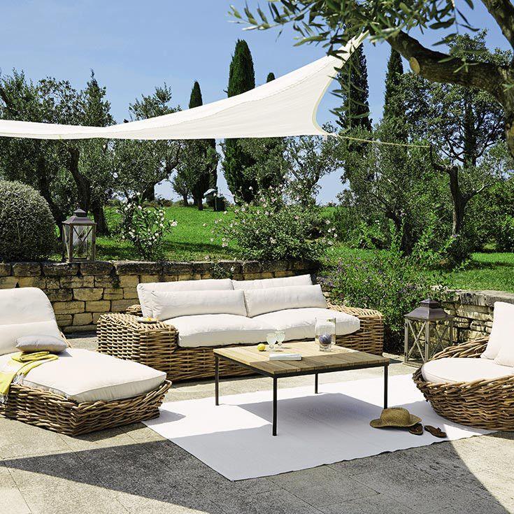 353 best jardin et terrasse images on pinterest backyard ideas backyard landscape design and. Black Bedroom Furniture Sets. Home Design Ideas