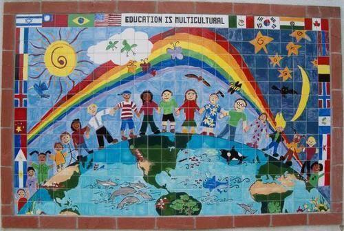 Isla Vista California, Isla Vista Elementary School Tile mural