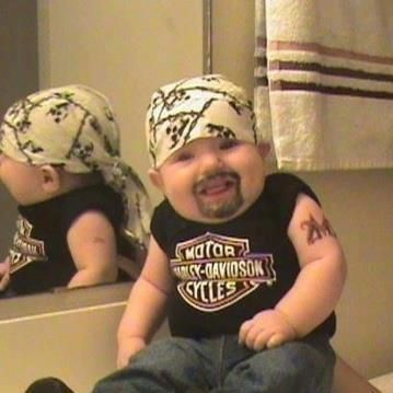 Love the biker look!!!!!!!!! HD all the way!!!!!!!!!!!!!@@@@@@@@   Funny and Cool Halloween Costumes 2013: Creative Halloween Costumes