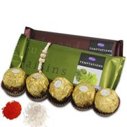 Rakhi With Chocolates to Jaipur