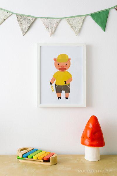 ¿En busca de ideas para la habitación infantil? ¿Has pensado en las láminas de cuento? - http://madreshoy.com/en-busca-de-ideas-para-la-habitacion-infantil-has-pensado-en-las-laminas-de-cuento/