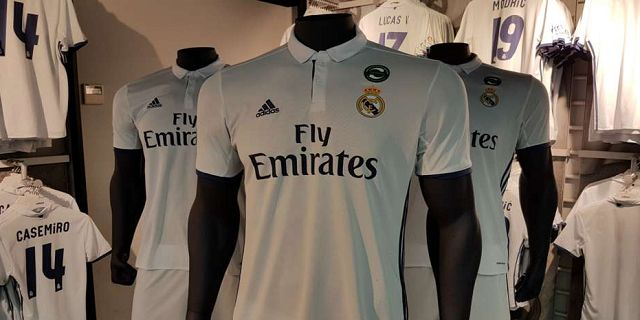 Jersey Baru Real Madrid Musim 2016/2017