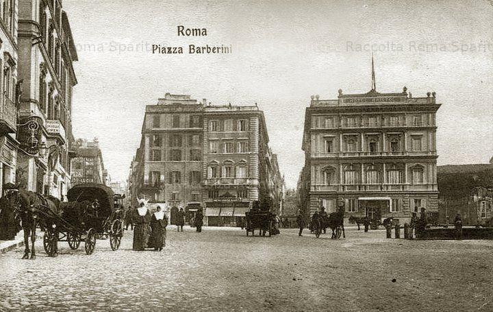 Roma Sparita - Piazza Barberini