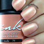 Glam and Glits Ink Gel Polish Nude #79 Swatch