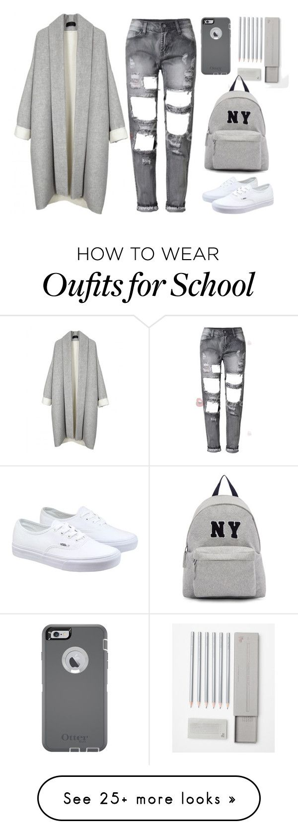 """Wrap kimono top"" by thestyleartisan on Polyvore featuring Vans, Joshua's, OtterBox, women's clothing, women's fashion, women, female, woman, misses and juniors"