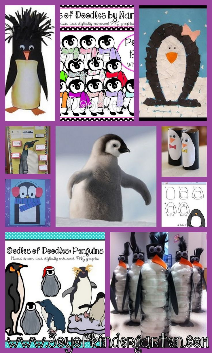 Penguin Art Activities