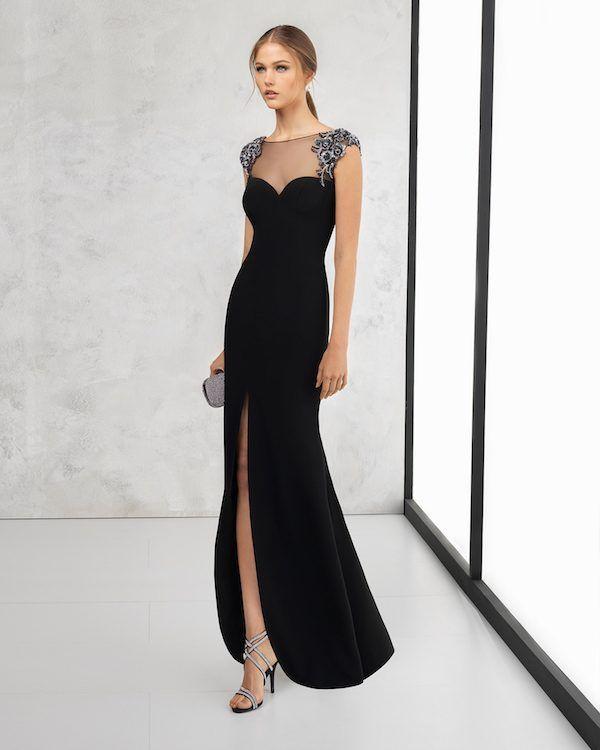 4d048377d ¡Los vestidos de fiesta Rosa Clará de 2018 ya están aquí! El catálogo trae  vestidos de fiesta sobrios