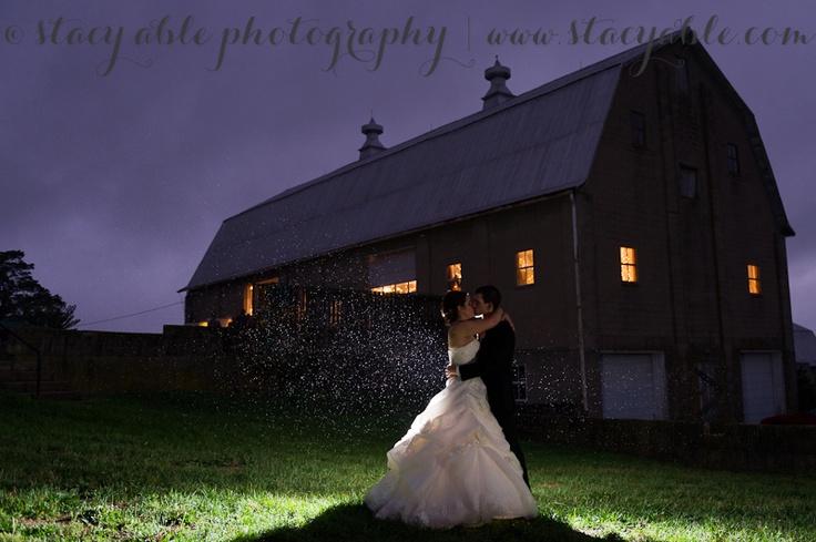 Rain on your wedding day! Columbus Indiana wedding at the