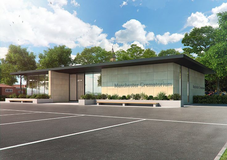 Richard Drinkwater Architects new office for Manchester Crematorium