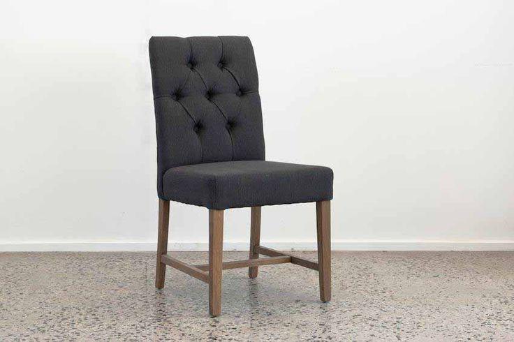 Rex chair charcoal