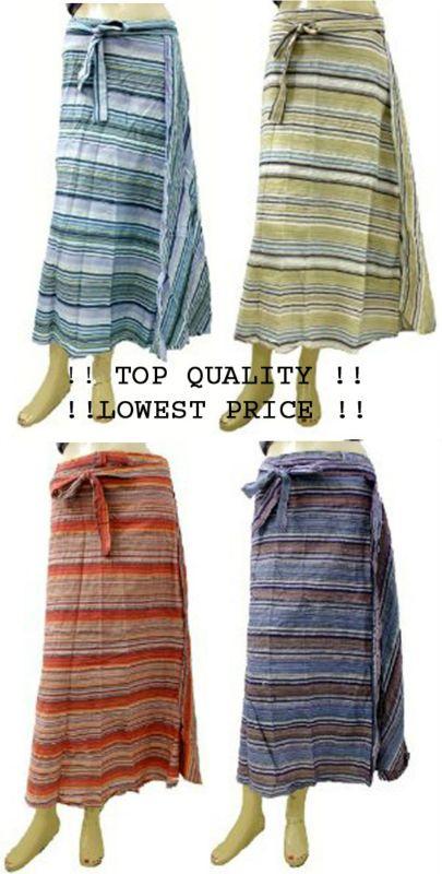 a583f4be3 10 pcs de algodón étnicos impreso batik hippie boho mujeres de falda ...