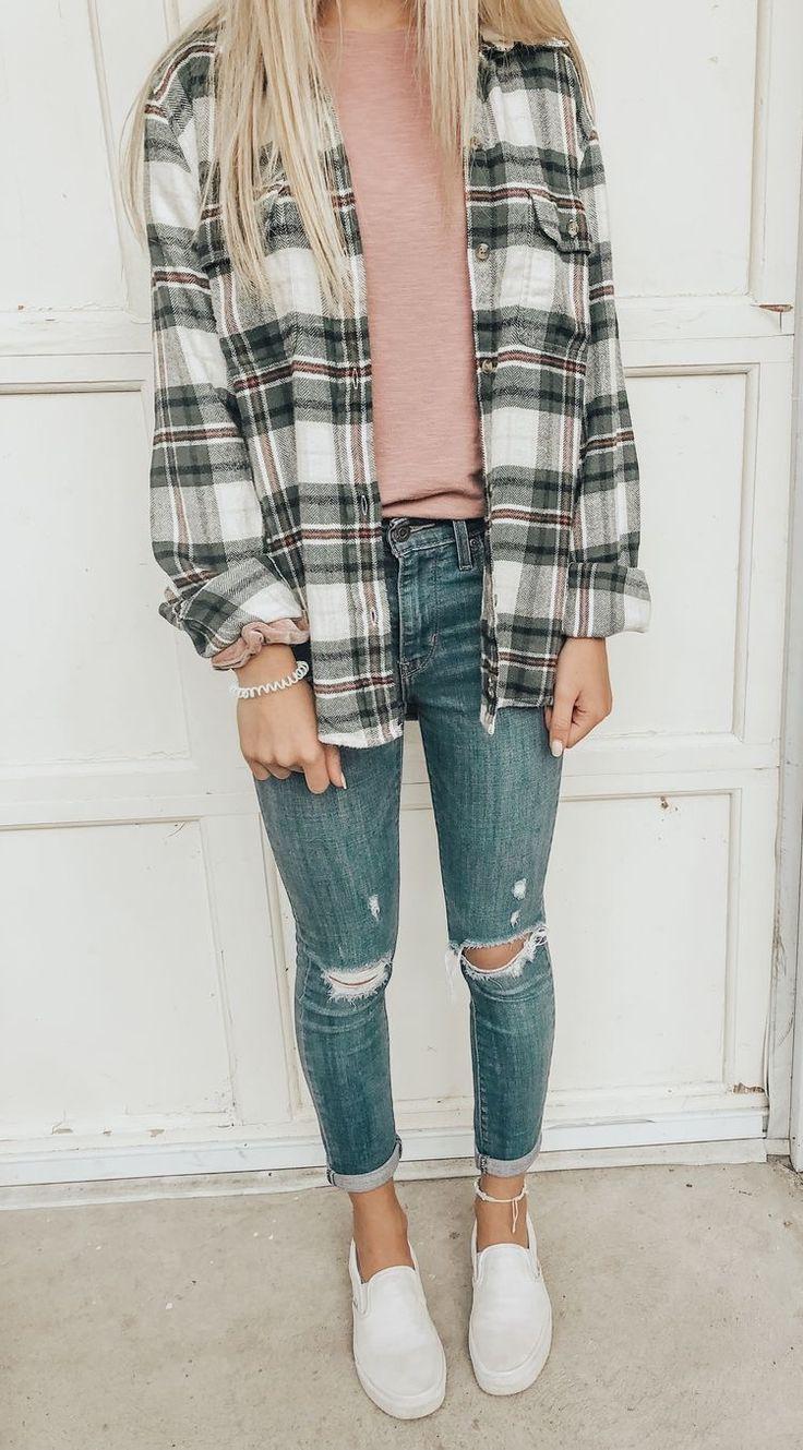 Back To School Outfit summer #Pinterest #seanabeauty Pinterest