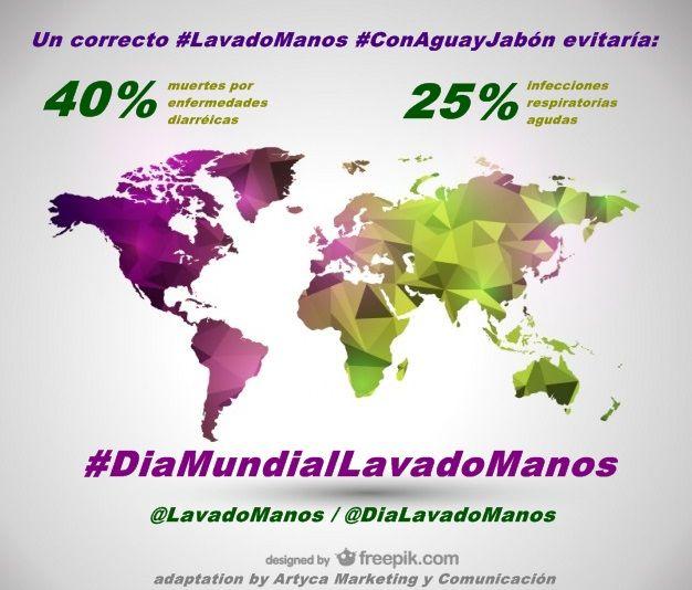 #LavadoManos #ConAguayJabón evitaría 44% de muertes por diarreas y 25%  infecciones respiratorias agudas