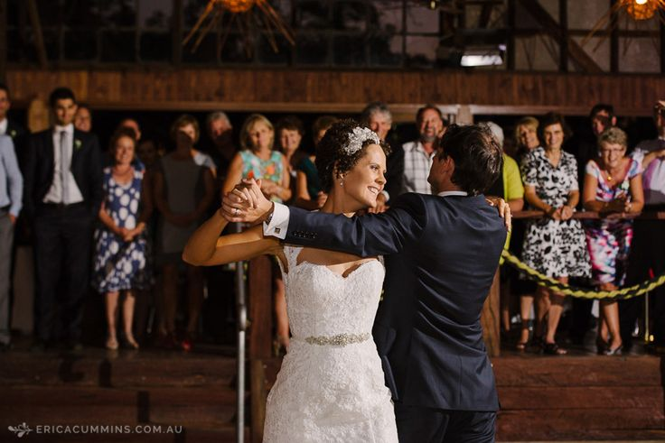 A fun country wedding at Perricoota Station with an epic first dance.