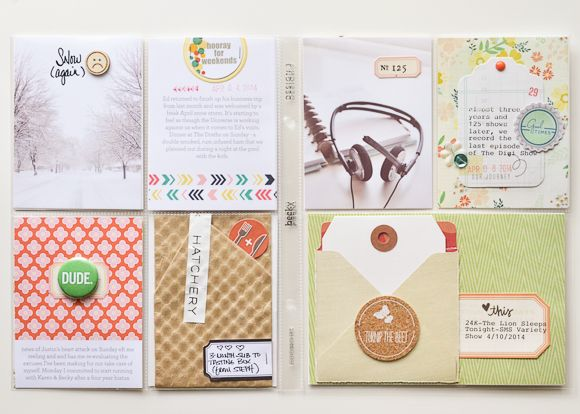 Project Life | April 2014 by One Little Bird