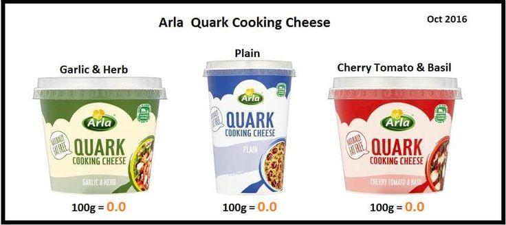 Slimming world arla quark syns