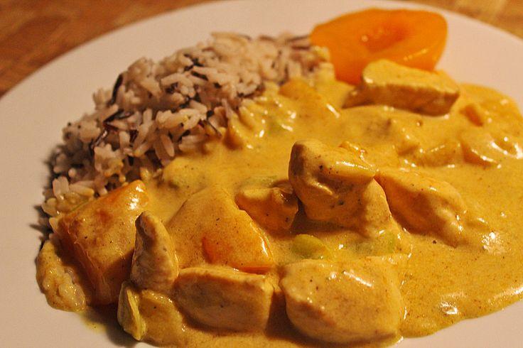 Hähnchen - Pfirsich - Curry, ein beliebtes Rezept aus der Kategorie Geflügel. Bewertungen: 11. Durchschnitt: Ø 4,2.