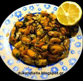 Όλα για τη δίαιτα Dukan: Μύδια αχνιστά