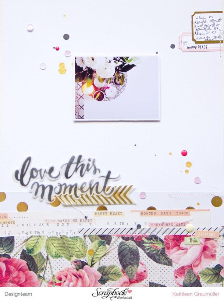 """This Moment"" Layout by ScatteredConfetti with Crate Paper ""Open Book"" collection // #scrapbooking #layout #cratepaper #maggieholmes #scrapbookwerkstatt"