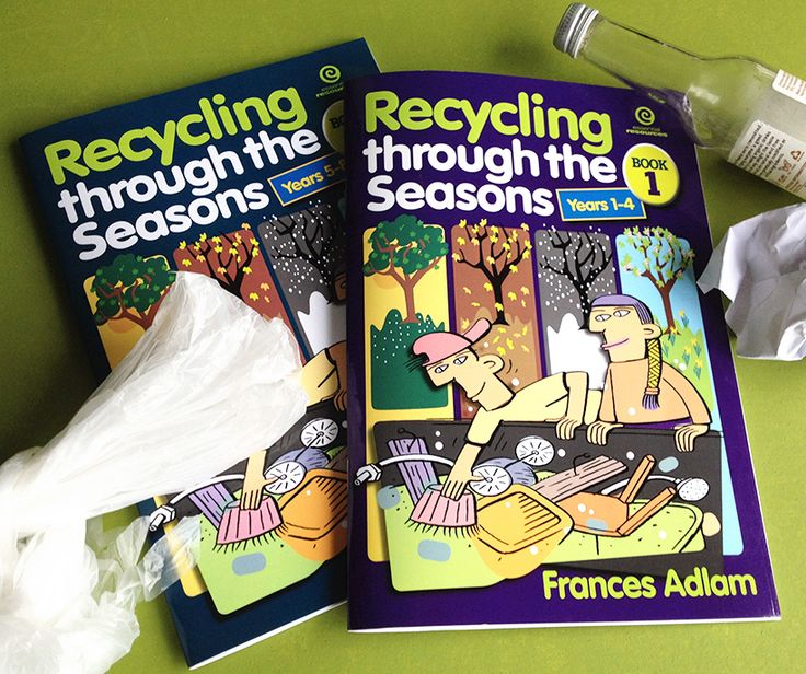 Recycling through the Seasons by Frances Adlam