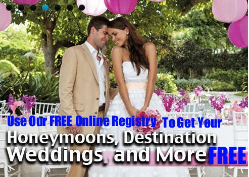 PAID FOR HOW By Using Our FREE Online Registry What Is A Honeymoon Wedding Gift This Similar To