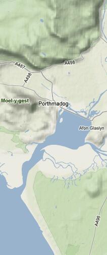 Tide information for Porthmadog