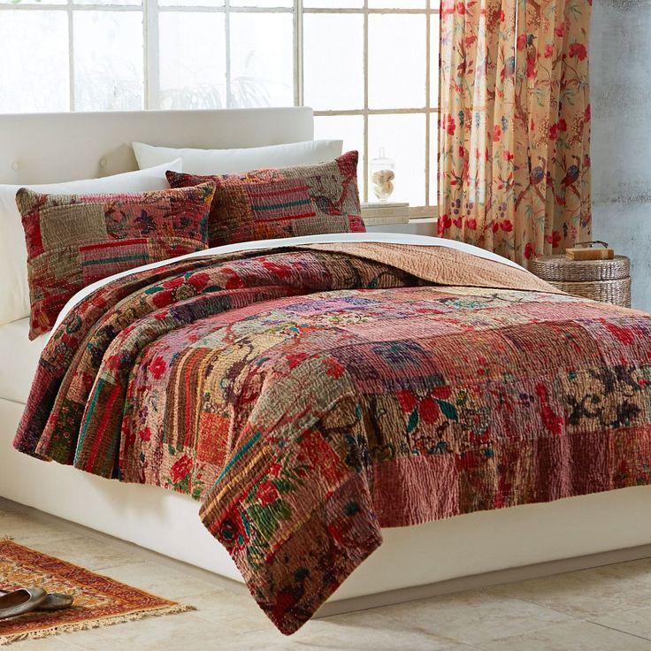 Awesome Velvet Kantha Bedding Set