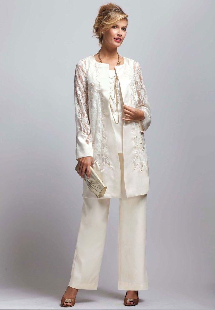 ee3f9f6cdd Resultado de imagen para trajes pantalon para madrina de boda ...