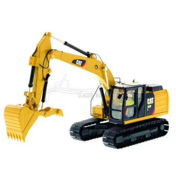 Caterpillar 323F L Excavator with Thumb in 1:50 Scale Diecast by Diecast Masters DM85924 See Norscot, CCM, Tonkin Replicas and NZG for Other CAT Models