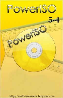 PowerISO 5.4 is the best utility tool for CD / DVD burning purpose and is fast and easy.