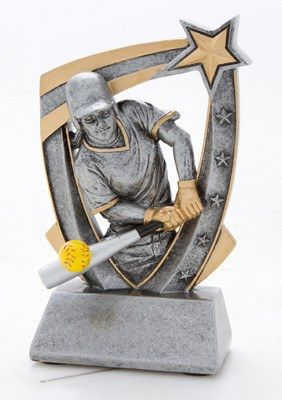 3-Dimensional Softball Trophy