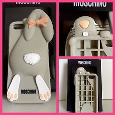 NEW COVER MOSCHINO VIOLETTA RABBIT CONIGLIETTO PER IPHONE 5/5S/5C