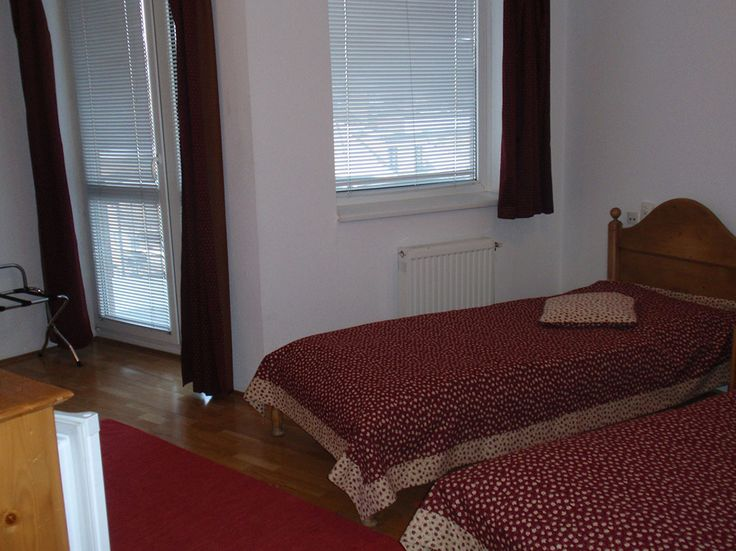 Udvarra néző hálószoba egyik #apartmanunkban / #bedroom at one of our #apartments facing to the courtyard