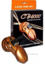 The CB-6000 Designer Collection - Wood is the CB-6000 Male Chastity Device in a beautiful Wood finish. The CB-6000 Designer Collection Male Chastity Device is a new innovative design offering the utmost in comfort and security. The new ring design consists of three interlocking pieces that fit together like a puzzle. $144.00