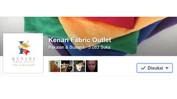 Like Fanpage Facebook Kami Kenari Fabric Outlet