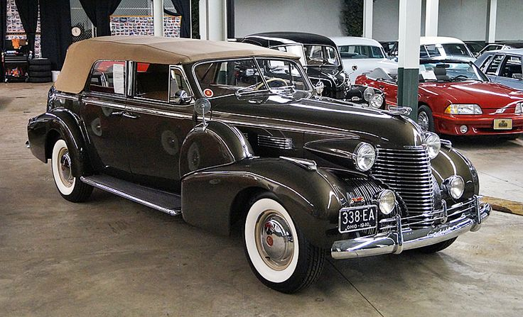 1940 Cadillac Fleetwood V8 4-dr convertible sedan                                                                                                                                                                                 More