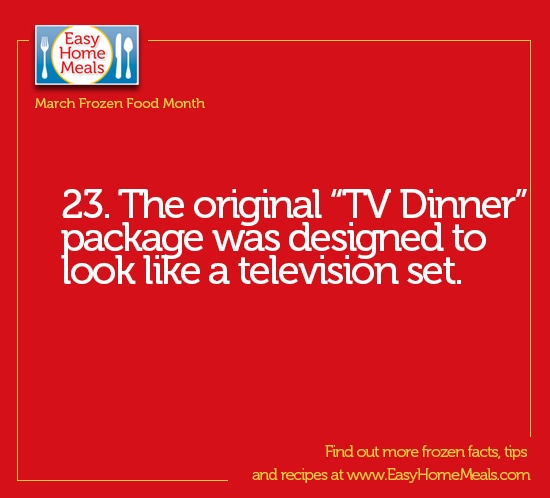 It's Day 23 of #MarchFrozenFoodMonth!!