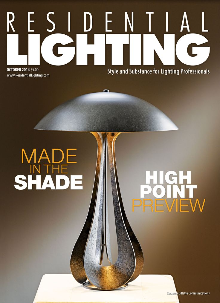 We Re Excited To Have Been Included In The October Issue Of Residential Lighting