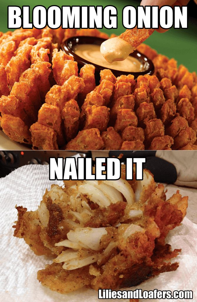 Bloomin' Onion  Nailed It! Best Pinterest Food Fails Of All Time – BoredBug