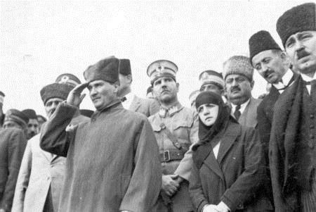 ✿ ❤ Atatürk ve eşi Latife Hanım