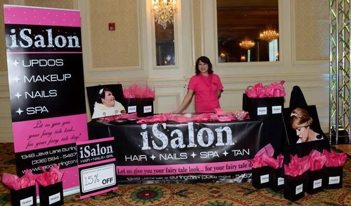 one glance at your booth and guests should know exactly who you are and what you have to offer bridal show booth ideas pinterest salons