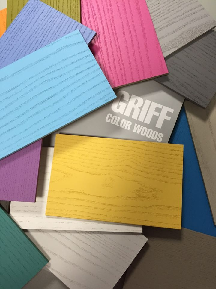 GRIFF COLOR WOODS Scopri tutti i colori per creare la tua prossima cameretta! I nostri designer vi aiuteranno nelle combinazioni!