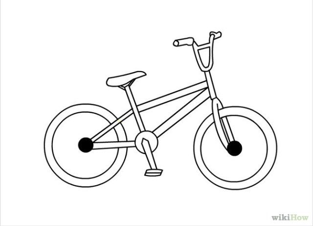 Image Result For Bmx Bicycle Drawing Bicycle Drawing Bike