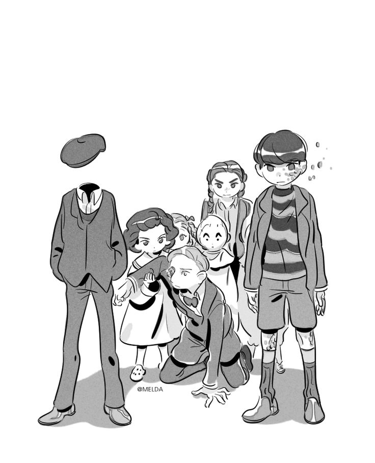 I chose this picture because it is a cartoon version of all the kids. These are all of the kids represented by their peculiar differences. They all have something different about them which makes them the very alike in a way, and they are family to each other.