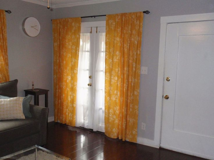 Yellow Living Room Curtains Pale Grey