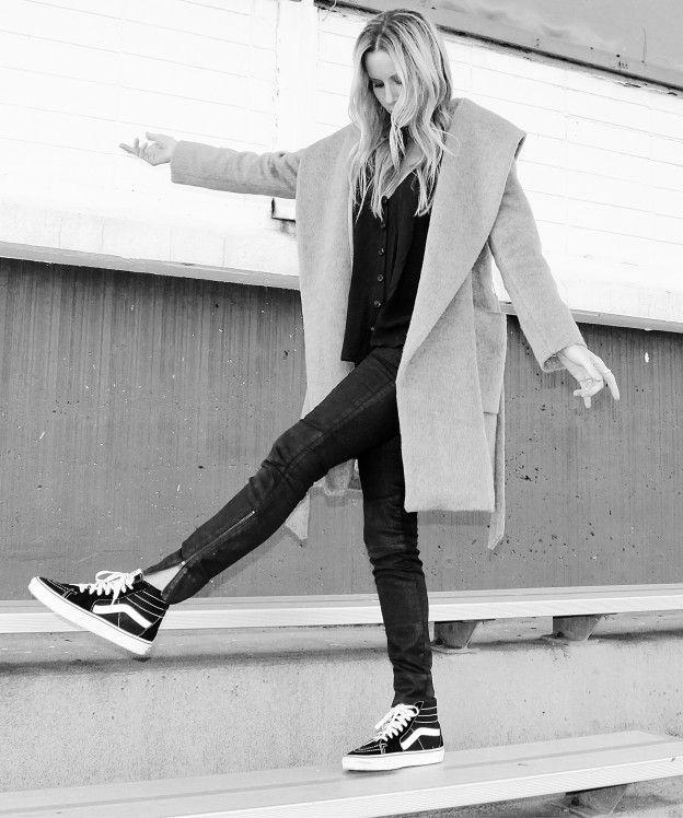 Vans and Furry coats | Style | Pinterest | Vans Clothes and Vans sk8